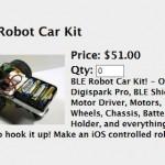 「Digiskark Pro」の追加シールドCar Kitのアナウンスが来た
