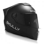 リアカメラ搭載かつHUD内蔵ヘルメット「SKULLY AR-1 」