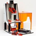 積層ピッチ25-50umな光造形3Dプリンター「LittleRP」