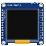 1.5インチOLEDが搭載されたArduino互換機「Pixelduino」