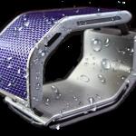 ブレスレッド型ソーラーチャージャー・モバイルバッテリー「SolarHug Bracelet」