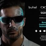 骨伝導イヤホン内蔵サングラス「Buhel SOUNDglass™ SG05」再び