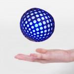 iPadと連携して色々な遊びができるLEDボール「Hackaball」