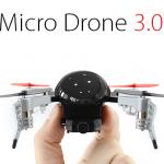 ボディーを自由に3Dプリンターで作って変えられるFPVドローン「Micro Drone 3.0」