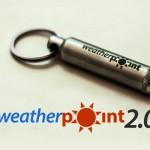 スマホでUV計測や天気予報ができる「Weather Point2.0」