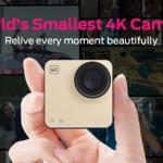 GoPro!?いえそれよりも小さいズーム機能搭載1600万画素4K撮影カメラ「Mokacam」