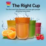 ただの水がジュースになるダイエット・フレーバーカップ「The Right Cup」