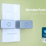 スマホで操作するボタンを押すボタン「Microbot Push」