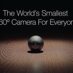 パノラマもVR撮影もできる360度撮影カメラ「Luna」