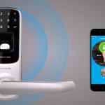 指紋、Bluetooth、暗証番号にノックにも反応する玄関錠「Ultraloq」