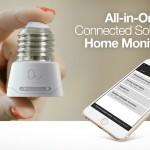 ホームモニタリング機能内蔵LED電球アダプタ「Anyware Smart Adaptor」