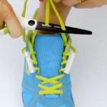 ネオジウム磁石で靴紐の脱ぎ履きが劇的に楽になる靴紐アダプター「Zubits 2.0」