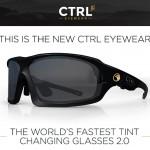 電子調光式液晶e-Tint を採用したレンズの色が自動で変化するサングラス「CTRL XC」