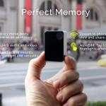 決定的瞬間を激写するウェアラブル・スマートカメラ「Perfect Memory」