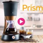 わずか10分で700mLもの水出しコーヒーが抽出できるコールドコーヒーメーカー「Prisma」