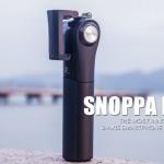横でも縦撮影でもどちらでも撮影可能なスマートフォン用ジンバル「Snoppa M1」
