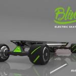 勾配30%の坂道でもスピードを緩めず登坂可能な電動4駆スケートボード「BLINK」