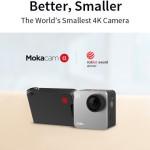 今までのアクションカメラが苦手としたシーンでも鮮明な映像で撮影可能な4Kアクションカメラ「Mokacam α」