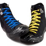 片手でさっと結べ100%絶対に解けないゴム製靴ヒモ「QuickShoeLace」