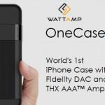 32bit/384kHzハイレゾDACにカードリーダーまで内臓されたiPhone用ケース「OneCase」