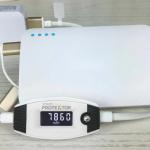 バッテリーの劣化を可視化するスマートメーター付きケーブル「Smart Protektor」