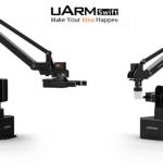 3歳から使用可能な3Dプリンターにも変身するプログラマブル・ロボットアーム「uArm Swift」