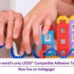 LEGOブロックいイノベーションをもたらす画期的なレゴテープ「Nimuno Loops」