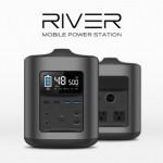 USB,USB-Cに加えAC出力にノートPC充電機能まで備えた大容量パワーバンク「RIVER」