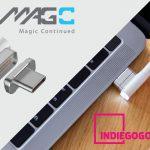 MacBook Pro (2016 Late)対応のフル規格USB-Cマグネットコネクタ「MagC」