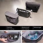 カメラバックにも保冷バッグにもトランスフォームする多機能メッセンジャーバッグ「Mexxenger」