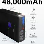 合計出力250WのACコンセントが2個も搭載されたモバイルバッテリー「Plug」