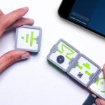 小学生から使える磁石で簡単にくっつく回路学習用ブロック「IQube」