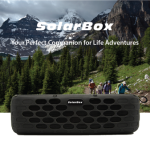 たった10分太陽に当てるだけで最大30分も鳴らす事が可能なソーラーパネル搭載Bluetoothスピーカー「SolarBox」