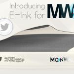 E-Inkディスプレイを搭載して磁力クッションの入ったスニーカー「MoonWalker」