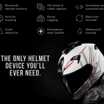 ヘルメットに装着可能な多機能ドライブレコーダー「Mohawk」