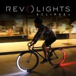 700C ツーリングバイク用ホイール全体が光るLEDライト「Revolights」
