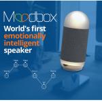 人間の感情を読み取るLEDフルカラー・インテリジェントスピーカー「MoodBox」