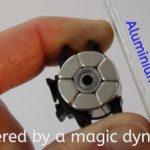 発電はするのだけれど、ペダルは100%重くならない自転車用LEDヘッドライト&テールライト「Magnic Microlights」