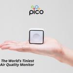 PM2.5,PM10,VOC,CO2と言った目に見えない空気の状態を観測する世界最小!?のポータブルエアーモニター「PiCO」