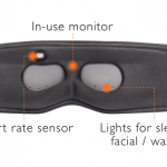 音と光でより良い眠りへと導くだけでなく、寝ている間にスキンケアも行うアイマスク「Dreamlight」