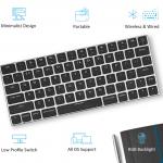 Macユーザー必見!!青軸低背キーを使ったMacレイアウトのNキーロールオーバー・キーボード「Taptek」