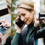 フルキーボードを備え通話も可能な上、サブ2インチディスプレイを持つLTE対応PDA端末「Cosmo Communicator」