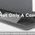 ノートPCを取り出せば、PCスタンドに変身する2in1ラップトップPCキャリングポーチ「SINEX Laptop Case」