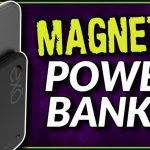 スマートフォンに貼り付き、使用しながらもワイヤレス充電が可能なモバイルバッテリー「Magnetic Wireless Power Bank」