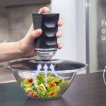 市販のお皿や容器を使って真空保存が可能なバキュームポンプと蓋のセット「Equilibric」