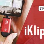 iPhone&Android(USB-C)&PCで使用可能なMFi認定バックアップメモリ「iKlips C」