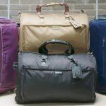 スーツにシワ一つつけずに収納する事が可能な世界一コンパクトなキャリーバッグ「Curve Bag」