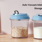 ビックサイズの袋菓子も、そのまま真空保存可能な最大容量2.0Lのコンテナまで用意されている真空保存容器「VacTank」