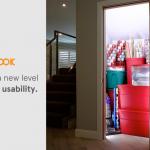 コンセントのないクローゼット等に簡単に取り付けられるLED照明キット「Luminook」