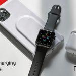 AppleWatchのバッテリーが切れそうな時、AppleWatchを充電する事が可能なiPhoneケース「Wireless Charging Case」
